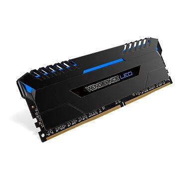 Corsair 32GB KIT DDR4 3000MHz CL15 Vengeance LED - blue LED (CMU32GX4M4C3000C15B)