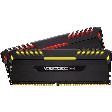 Corsair 16GB KIT DDR4 2666MHz C16 Vengeance RGB Series (CMR16GX4M2A2666C16)