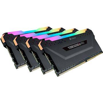 Corsair 64GB KIT DDR4 3200MHz CL16 Vengeance RGB PRO černá (CMW64GX4M4E3200C16)