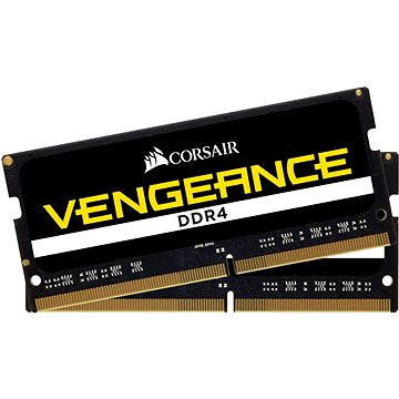 Corsair SO-DIMM 8GB KIT DDR4 2400MHz CL16 Vengeance černá (CMSX8GX4M2A2400C16)