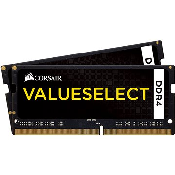 Corsair SO-DIMM 32GB KIT DDR4 2133MHz CL15 ValueSelect (CMSO32GX4M2A2133C15)