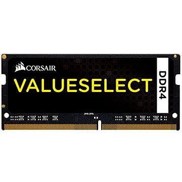 Corsair SO-DIMM 8GB KIT DDR4 2133MHz CL15 ValueSelect černá (CMSO8GX4M1A2133C15)