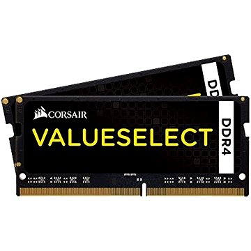 Corsair SO-DIMM 16GB KIT DDR4 2133MHz CL15 ValueSelect černá (CMSO16GX4M2A2133C15)
