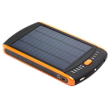 DOCA Powerbank Solar 23000mAh černá/oranžová (DS23000)