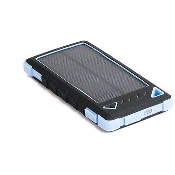 DOCA Powerbank Solar 8000mAh černá/modrá (DS8000-BLUE)