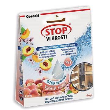 Pohlcovač vlhkosti CERESIT Stop Vlhkosti - absorpční sáčky broskev 2 x 50 g (9000100937832)
