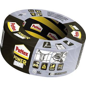 Lepící páska PATTEX Power tape stříbrná 50 m (9000100773454)