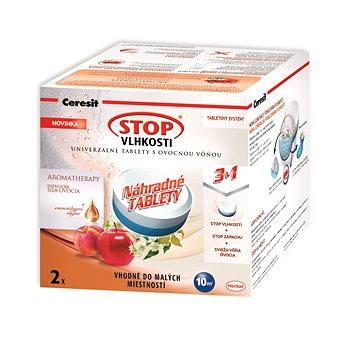 Pohlcovač vlhkosti CERESIT Stop Vlhkosti Micro AROMATHERAPY náhradní tablety 3v1 energické ovoce 2 x 300 g (599727385322)