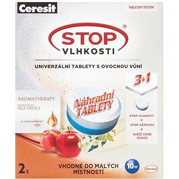 CERESIT Stop Vlhkosti Micro 3 v 1 energické ovocie náhradné tablety 2× 300 g(5997272385322)
