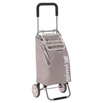 GIMI Flexi šedý nákupní vozík 45 l (8001244013230)