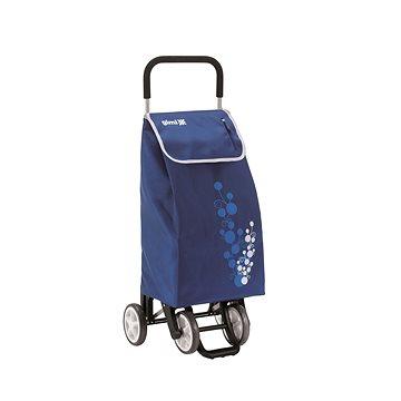 GIMI Twin modrý nákupní vozík 56 l (8001244013308)