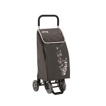 GIMI Twin šedý nákupní vozík 56 l (8001244013216)