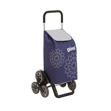 GIMI Tris Floral modrý nákupní vozík 56 l (8001244014305)