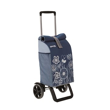 GIMI Rolling Thermo modrý nákupní vozík 50 l (8001244019270)