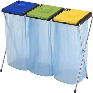 Odpadkový koš GIMI Nature 3 - stojan na odpadkové pytle (8001244007468)