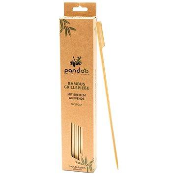 PANDOO Bambusové grilovací jehly na špíz široké 30 ks (4280001327917)