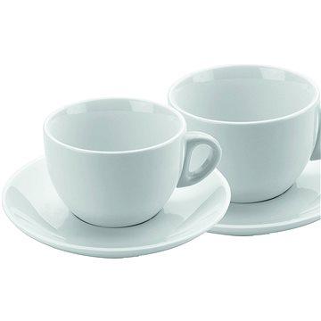 DOMESTIC Sada 2 ks cappuccino šálků s podšálkem 180ml (9001794226226)