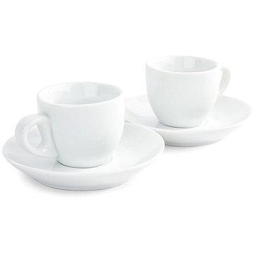 DOMESTIC Sada 2 ks espresso šálků s podšálkem 80ml (9001794226257)