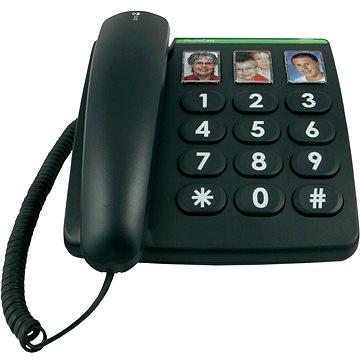 Doro PhoneEasy 331ph černá (7322460057466)
