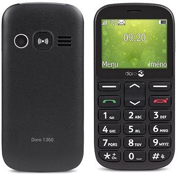 Doro 1360 Dual SIM Black (7392)