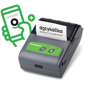 Dotykačka Kapesní + EET aplikace bez paušálu (DOTPR58)