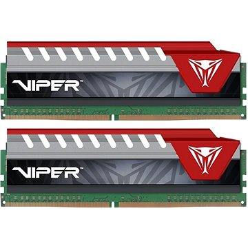Patriot Viper Elite Series 8GB KIT DDR4 2400Mhz CL15 RED (PVE48G240C5KRD)
