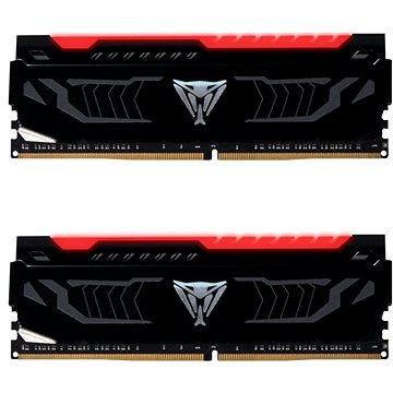 Patriot Viper LED Series 8GB KIT DDR4 3000Mhz CL15 DDR4 RED (PVLR48G300C5K)