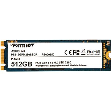 Patriot Scorch SSD 512GB (PS512GPM280SSDR)