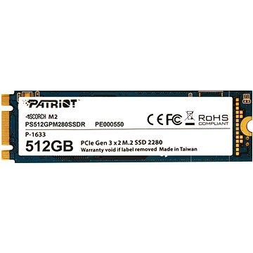 Patriot Scorch SSD 512GB (PS512GPM280SSDR)