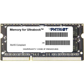 Patriot SO-DIMM 4GB DDR3 1600MHz CL11 Ultrabook Line (PSD34G1600L81S)