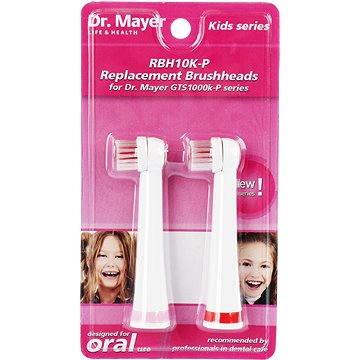 Dr. Mayer RBH10K-P náhradní hlavice pro GTS1000K - 2 ks - růžová