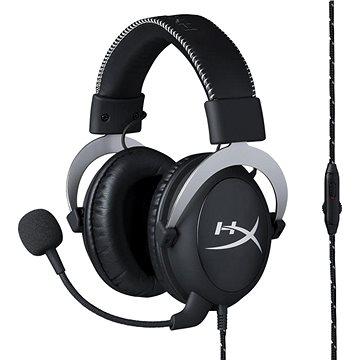 HyperX Cloud Gaming Headset stříbrná (HX-HSCL-SR/NA)