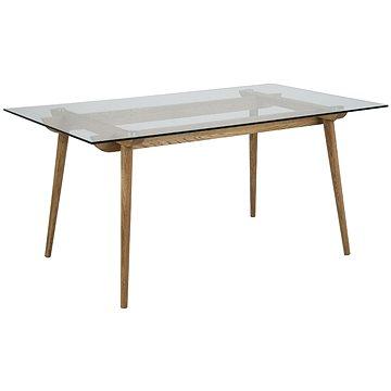 Jídelní stůl skleněný Xena, 160 cm