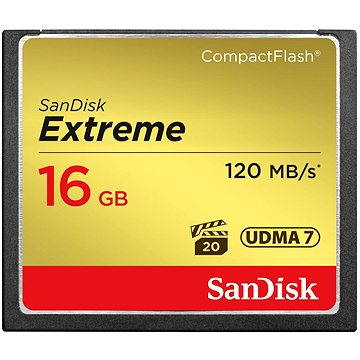 Sandisk Compact Flash 16GB Extreme