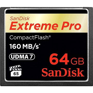 SanDisk Compact Flash 64GB Extreme Pro