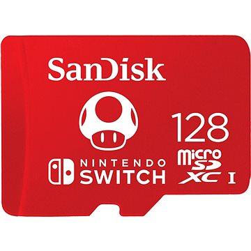 SanDisk MicroSDXC 128GB Nintendo Switch (SDSQXAO-128G-GNCZN)