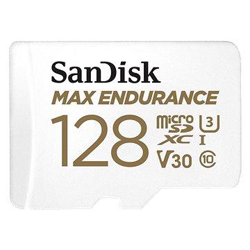 SanDisk MicroSDXC 128GB Max Endurance + SD adaptér (SDSQQVR-128G-GN6IA)