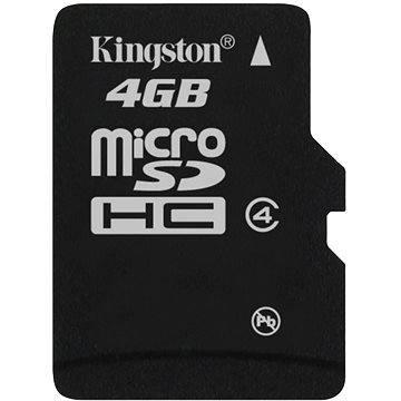 Kingston Micro SDHC 4GB Class 4 (SDC4/4GBSP)