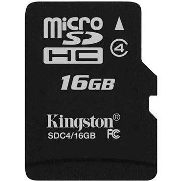 Kingston MicroSDHC 16GB Class 4 (SDC4/16GBSP)