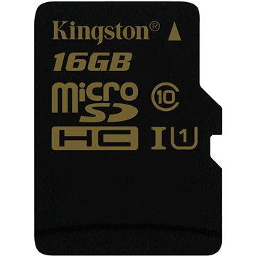 Kingston Micro SDHC 16GB Class 10 UHS-1