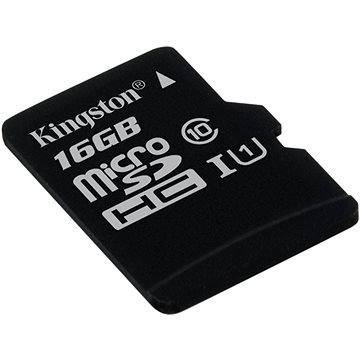 Kingston Micro SDHC 16GB Class 10 UHS-I (SDC10G2/16GBSP)