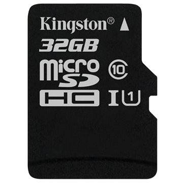 Kingston Micro SDHC 32GB Class 10 UHS-I (SDC10G2/32GBSP)