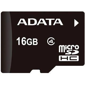 ADATA MicroSDHC 16GB Class 4 + OTG mikro čtečka (AUSDH16GCL4-ROTGMBK)