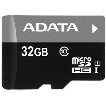 ADATA Micro SDHC 32GB UHS-I Class 10 + OTG čtečka (AUSDH32GUICL10-ROTGMBK)