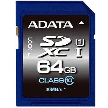 ADATA Premier SDXC 64GB UHS-I Class 10