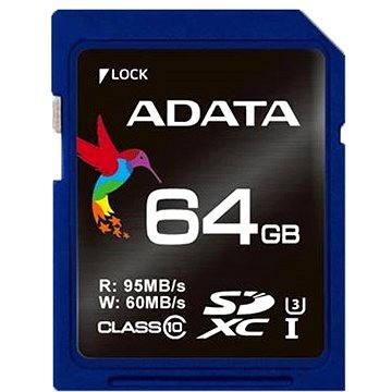ADATA Premier Pro SDXC 64GB UHS-I U3 (ASDX64GUI3CL10-R)