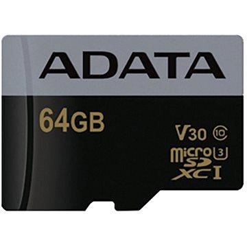 ADATA Premier Pro V30G micro SDXC 64GB UHS-I U3 (AUSDX64GUI3V30G-R)