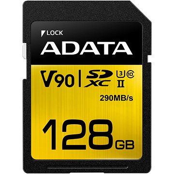 ADATA Premier ONE SDXC 128GB UHS-II U3 Class 10 (ASDX128GUII3CL10-C)