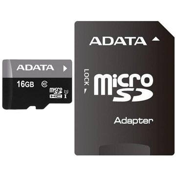 ADATA Premier MicroSDHC 16GB UHS-I + SDHC adaptér (AUSDH16GUICL10-RA1)
