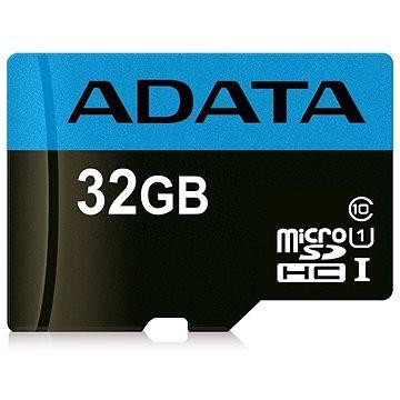 ADATA Premier micro SDHC 32GB UHS-I A1 Class 10 (AUSDH32GUICL10A1-R)